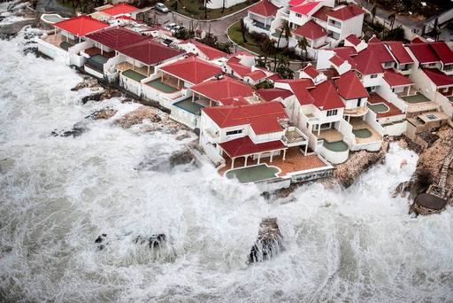 British territory 'pummelled' as Hurricane Irma continues trail of destruction