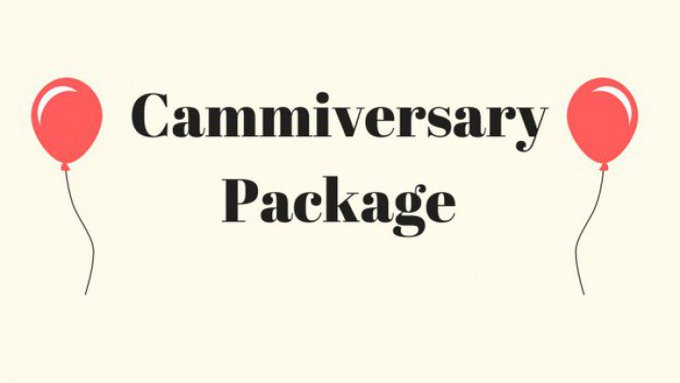Cammiversary Package by @BustySarahRae https://t.co/QmyEyYTxRo @manyvids https://t.co/tiUqUCRWjn