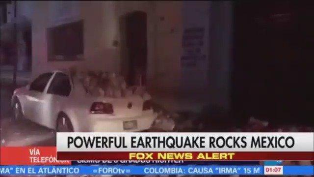FOX NEWS ALERT: Tsunami reported after 8.2 magnitude quake strikes Mexico https://t.co/wYOlHr3bic