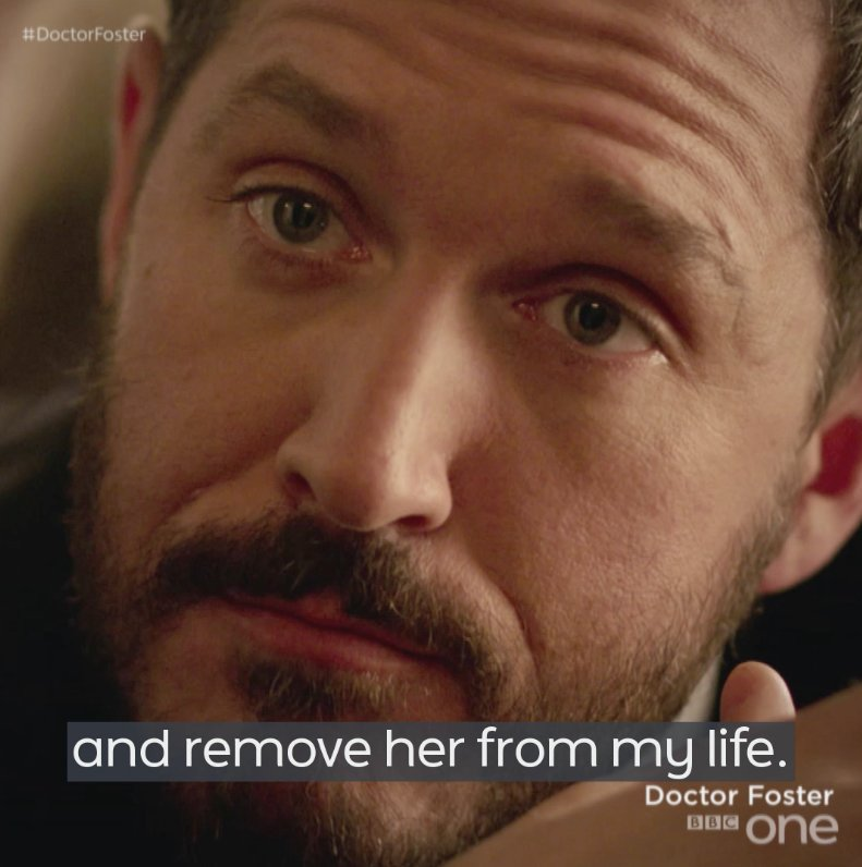 When love turns sour, revenge tastes sweet. #DoctorFoster continues. Tuesday. 9pm. https://t.co/KajMD1NITd
