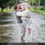 Hurricane Harvey Ruined Their Wedding Plans. This Is How They Got Married