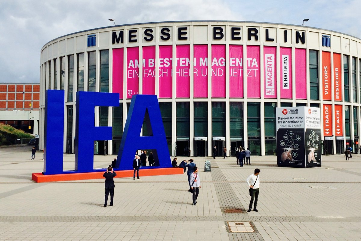 IFA: The 'corporate' electronics show