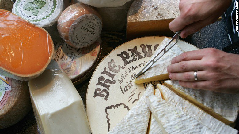 China takes a hard line on soft cheese, banning imports of brie, camembert, and roquefort