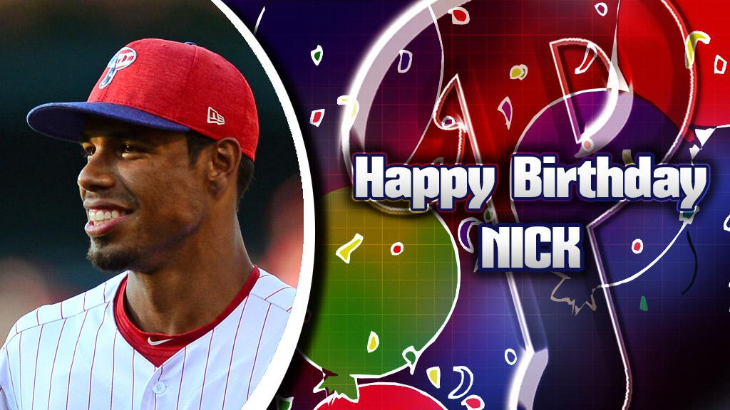 Happy Birthday to #Phillies outfielder @NickWilliams409! �������� https://t.co/OumJ4wg9L5