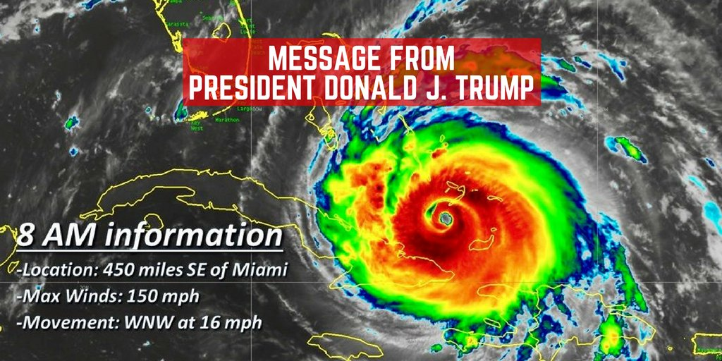 A message to my fellow Americans����#IrmaHurricane2017 ��https://t.co/jyg6AlyAAb ��https://t.co/iPujtHzejr https://t.co/HCQ9kmKc4E