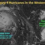 Hurricane Jose strengthens to a Category 4 storm, heading for Irma impactedislands