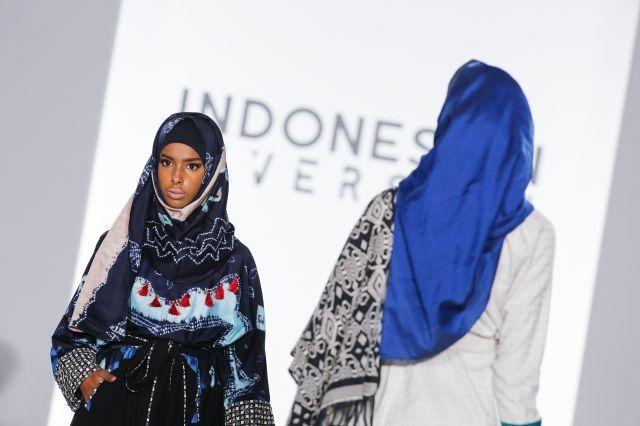 'Hijabs beautiful' Indonesians tell NY fashion week