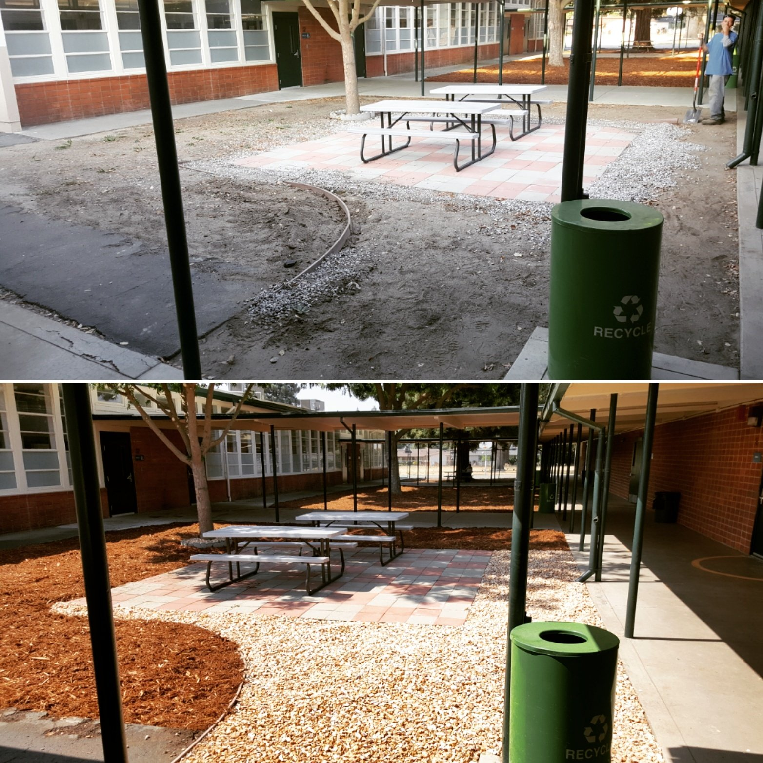 Thanks @wusdk12 Grounds crew for the landscaping love! It's #Great2bWUSD! https://t.co/hP4lQfje77