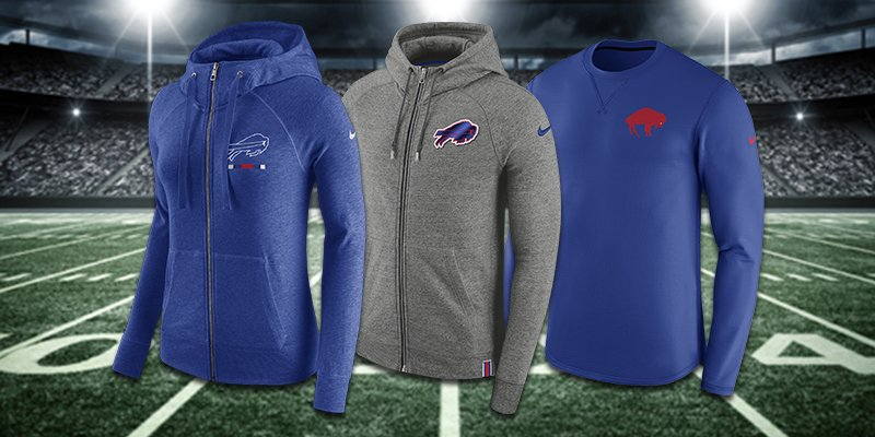 Football weather has arrived.  Get ready for Sunday with the newest from the Bills Store: https://t.co/icVj6uclIk https://t.co/s3x6EU2JOA