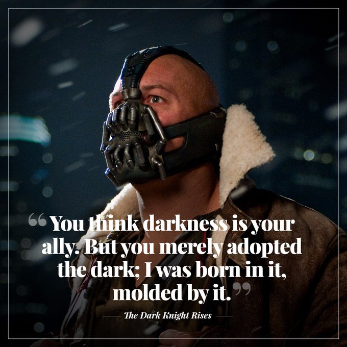 Happy birthday to The Dark Knight Rises and Inception star Tom Hardy.