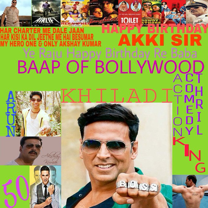 Happy Birthday My Idol God Actor Akki Sir [Akshay Kumar]