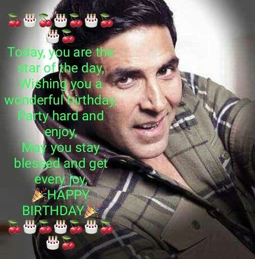birthday Superstar Akshay kumar