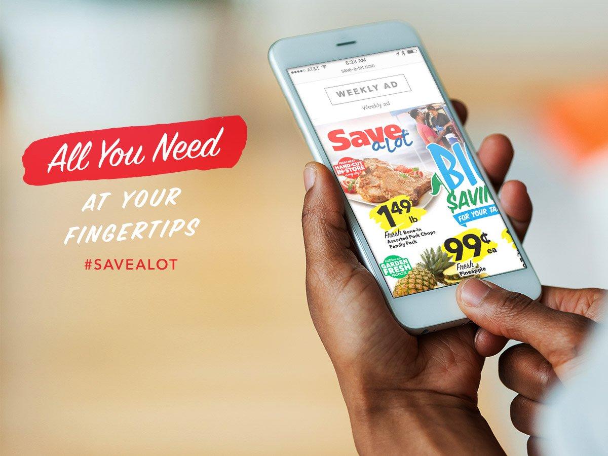 RT @SaveALot: Have you seen this week's ad? https://t.co/4ZWLpfDqGr #grocerysavings #savealot #savealotinsiders https://t.co/bDNUkcYeHP