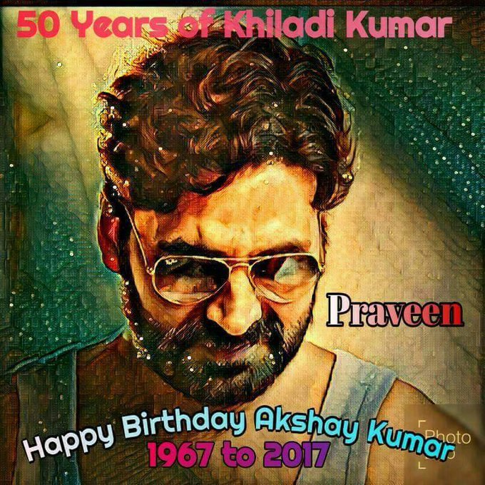 Wishing Very Happy birthday Akshay kumar sir.. god bless you live long