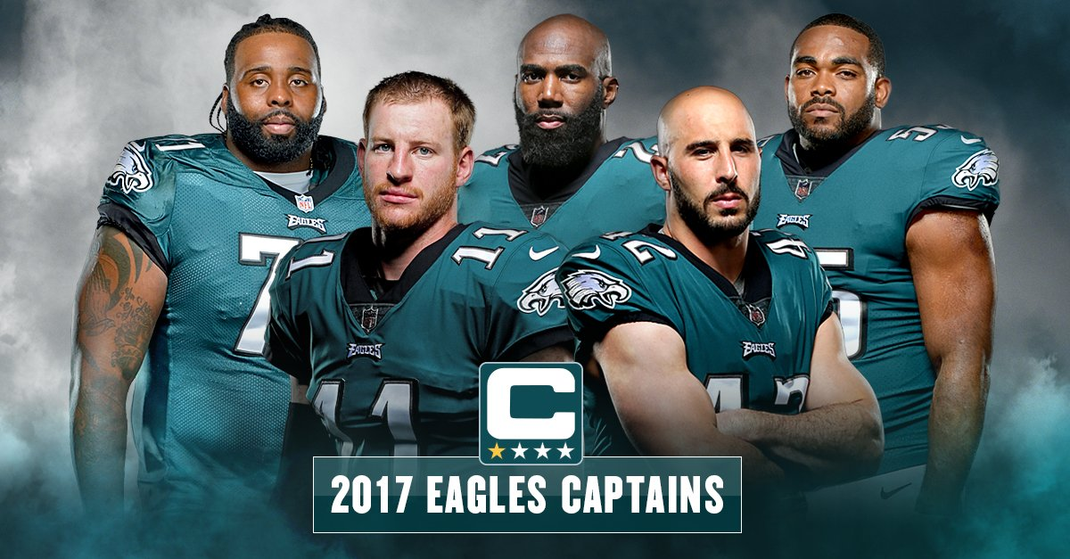 Meet the #Eagles 2017 captains. #FlyEaglesFly https://t.co/WxibeIzuQJ