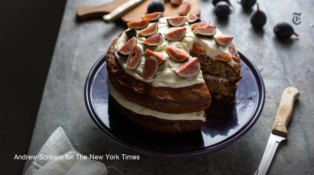 Adding fresh figs to fig cake is a good idea. A very good idea. https://t.co/vhFIWK1Ns3 https://t.co/JY175TmpbC