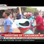 Tanzanian opposition MP Tundu Lissu getting treatment in Nairobi