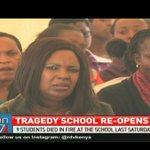 Moi girls Nairobi school form 4 students resume classes