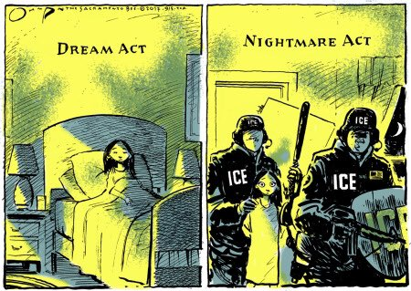 Dream Act vs. Nightmare Act  #withDreamers #DACA #DREAMers https://t.co/7waSqhpfjf