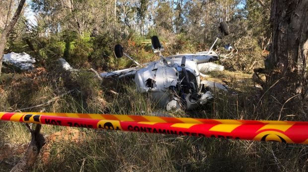 Two hospitalised after light plane crashes one kilometre from Port Macquarie runway