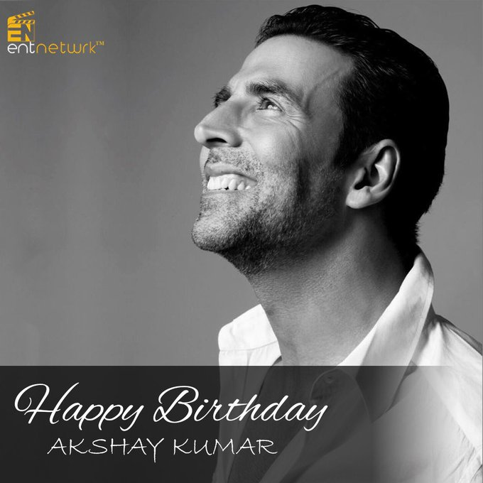 We wish the ever entertaining Akshay Kumar a very happy Birthday!