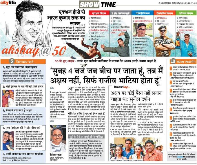 Action Hero to Bharat kumar sir  Happy Birthday Akshay Kumar