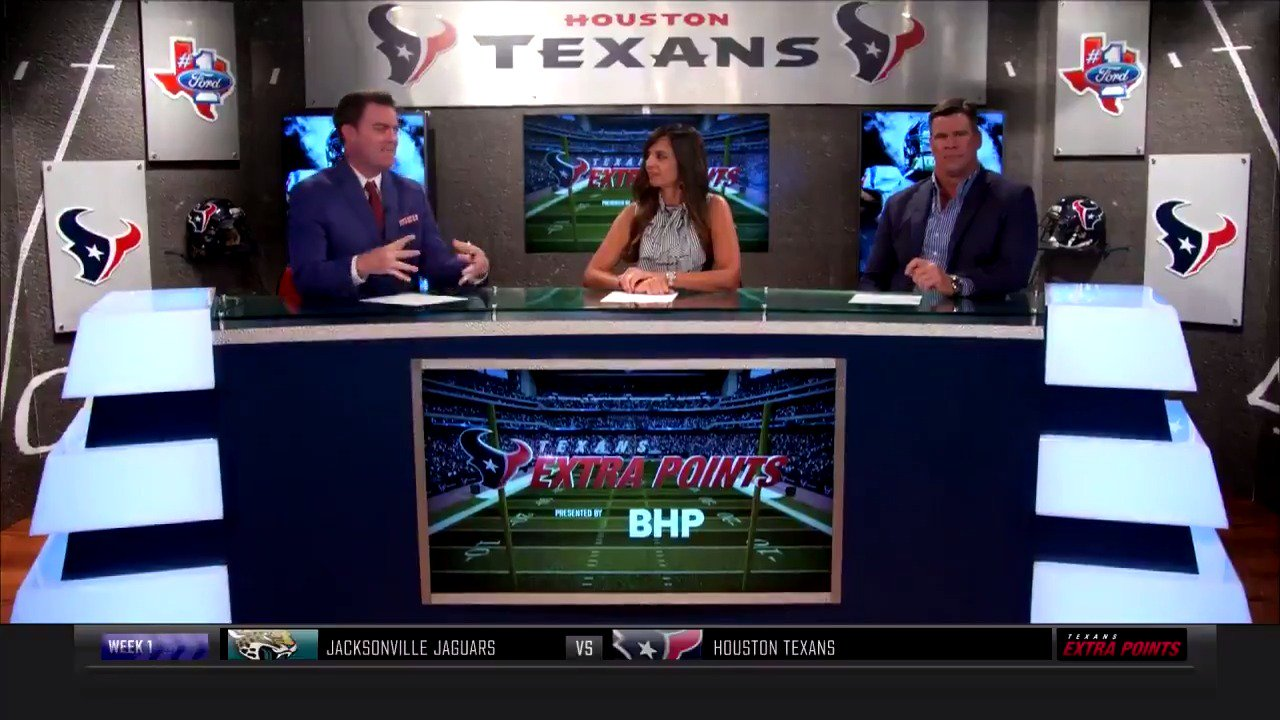 Faster and more energetic.  It's time to talk #Texans offense. https://t.co/5otggNGXcc