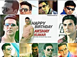Happy birthday Akshay Kumar....many many happy returns of the day ........