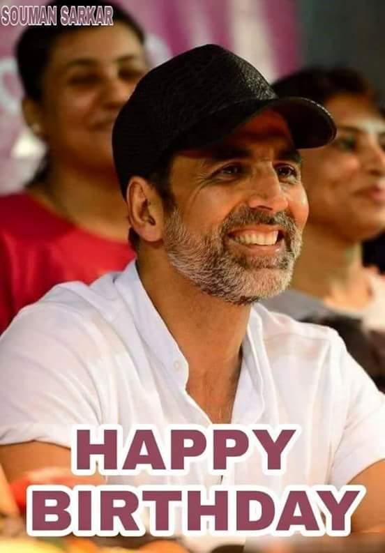 Happy  Birthday  Akshay  Kumar   ji