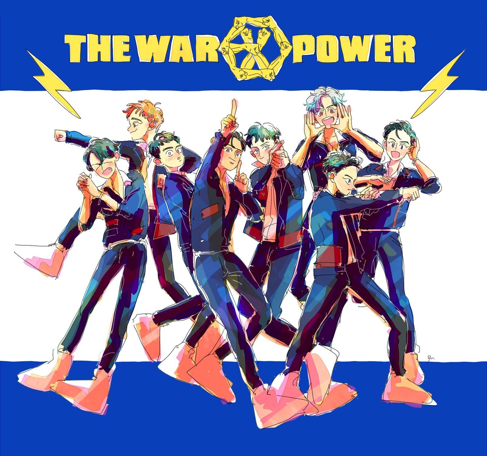 ������ #EXO #Power #TheWar #ThePowerofMusic https://t.co/yh6niquVDu
