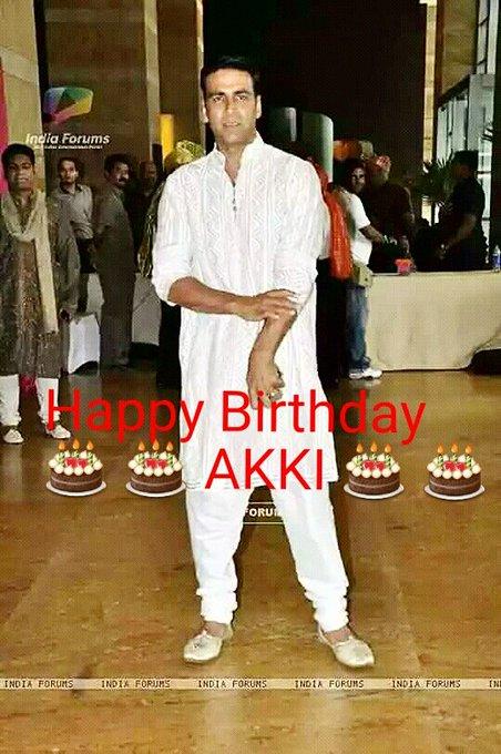 Happy Birthday My Dear Akshay Kumar  (Khiladi ).