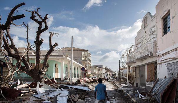 EN IMAGES. En ruines, Saint-Martin et Saint-Barthélemy attendent l'ouragan Jose
