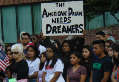 Dreamers march to Gov. Carney's office in Dover, protesting end of DACA