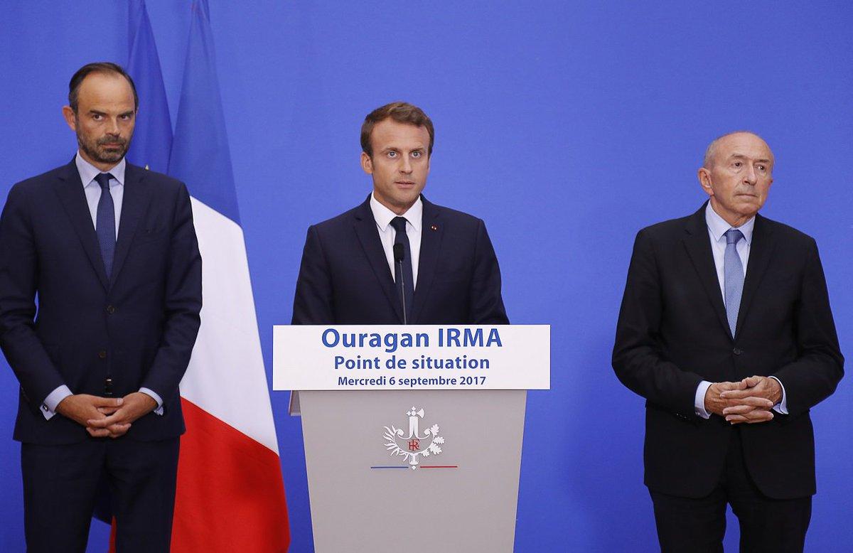Situation à Saint-Martin et Saint-Barthélemy: Macron convoque une réunion à l'Élysée