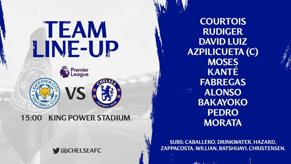 COME ON CHELSEA