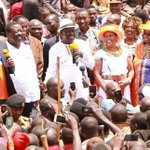 Punish Uhuru over threats to Supreme Court judges, Raila urges Narok voters