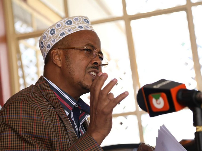 Jubilee leaders in Wajir begin to campaign for Uhuru, aim to deliver 90% of vote