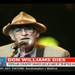 Popular country singer Don Williams dies at age 78 after short illness