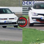 Front-Drive Super-Hatches: VW Golf GTI Clubsport S vs enault Megane S 275 Trophy