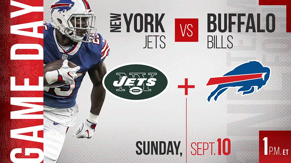 IT'S OFFICIALLY GAME DAY! #GoBills https://t.co/3KKWSJ7Ggv