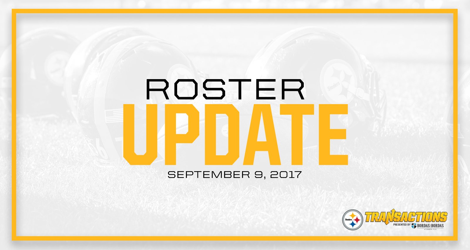 We have activated RB Le'Veon Bell, and released LB Steven Johnson.  MORE: https://t.co/0eMEIibK07 https://t.co/62z26tk9mr