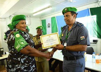 Nigerian police officers to leave Somalia