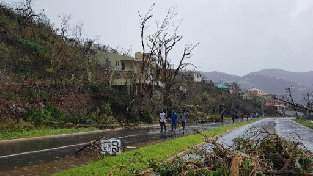 Six dead in British Caribbean after Hurricane Irma