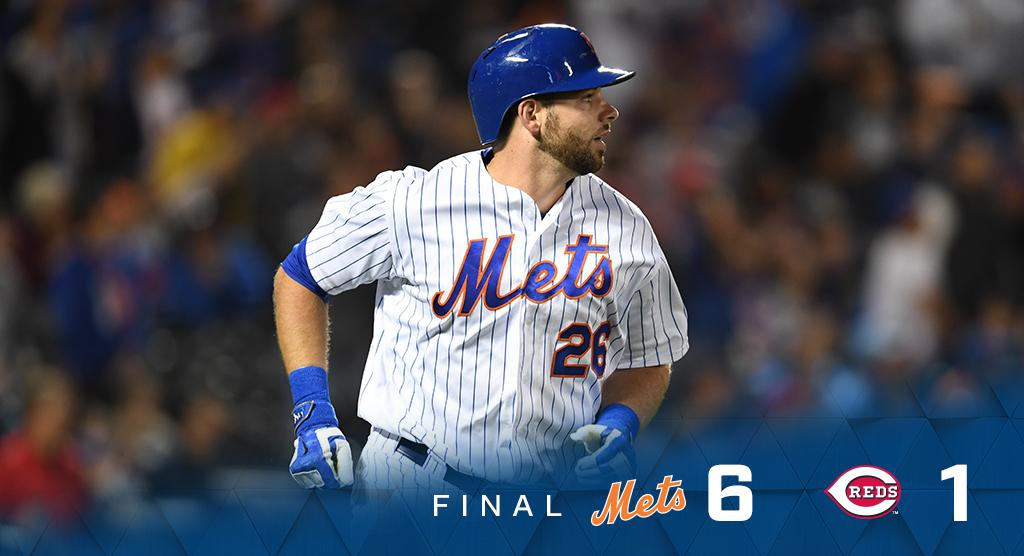Make it four in a row! We take another one against Cincinnati. #MetsWin  Box: https://t.co/mQv7pH9TFa https://t.co/ZsBZTLSS9S