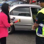 'Steering lock' lady in viral video has disabled husband - police