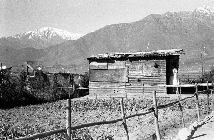 RT @alb0black: Peñalolen, Santiago de Chile, año 1957. ¿sector? #LugaresQueHablan https://t.co/57wvkGx01z