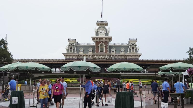 Hurricane alters Disney World plans, but only slightly
