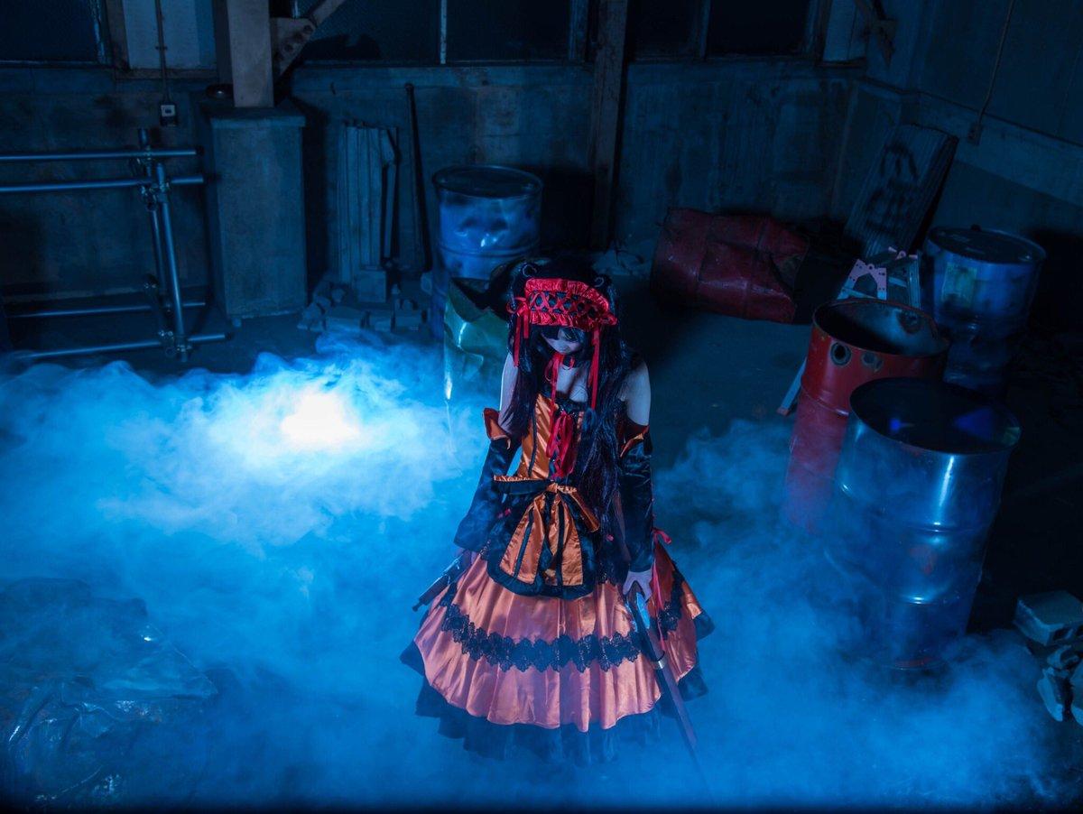 【コスプレ】デート・ア・ライブ☆時崎狂三「でェもォ、まさかこれでおわりだなんておもっておられませんわよねえ?」photo