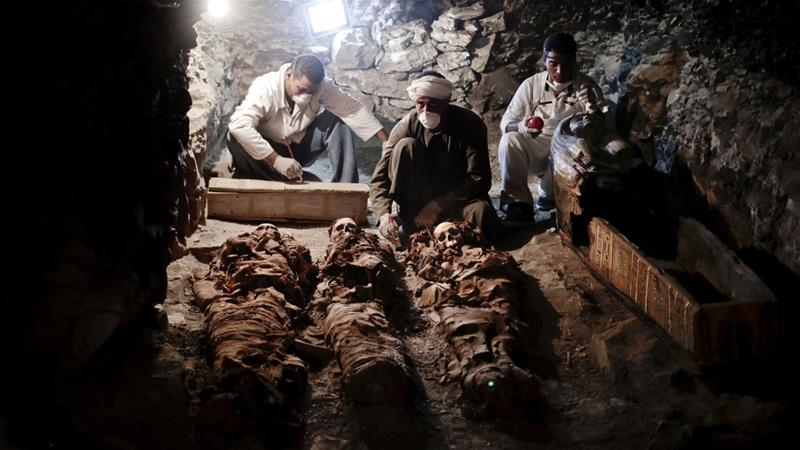 Egypt announces discovery of 3,500-year-old Luxor tomb
