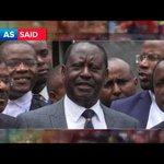 Throwing Back to President Uhuru Kenyatta's Reaction to His Election Nullification